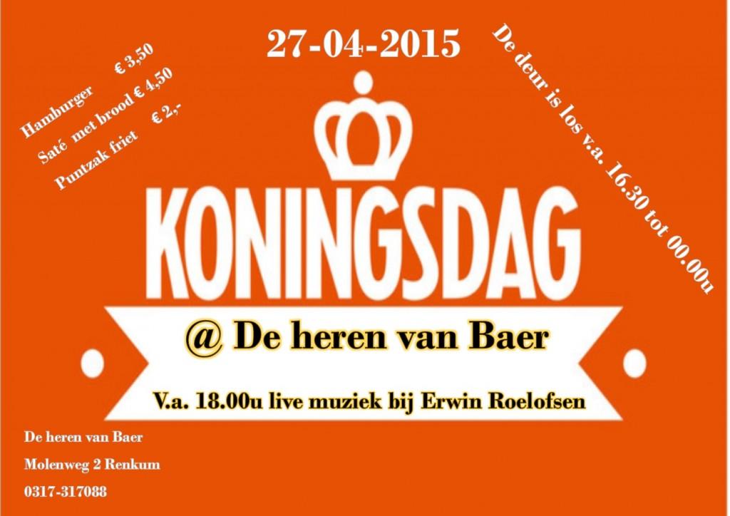 Koningsdag @ Heren van Baer | Renkum | Gelderland | Nederland