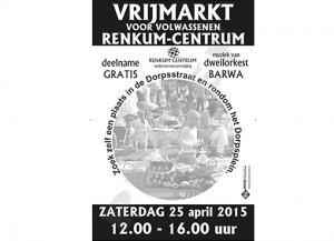 Renkum Centrum organiseert: Vrijmarkt voor volwassenen @ Dorpsstraat en Dorpsplein Renkum