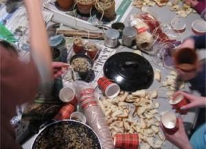 Kinderactiviteit: Voeding voor de vogels maken @ Natuurcentrum De Beken   Renkum   Gelderland   Nederland